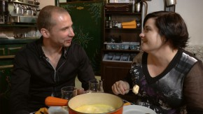 Image of fondue at Pain, Vin, Fromages restaurant in Paris